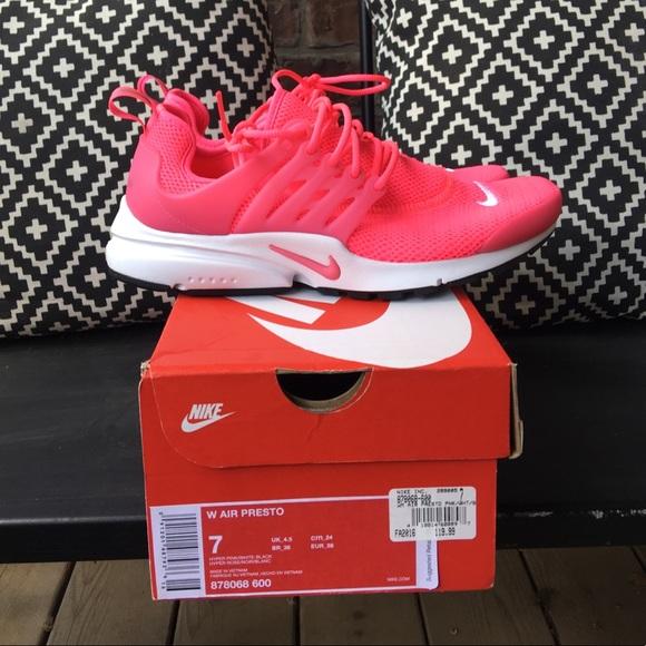 watch bc13d 2a294 Women's Nike Air Presto- Hyper Pink NWT